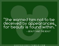 Beauty & the Beast Favorite Quotes, Best Quotes, Awesome Quotes, Disney Love, Disney Magic, Disney Stuff, Disney Nerd, Disney Beauty And The Beast, Real Beauty
