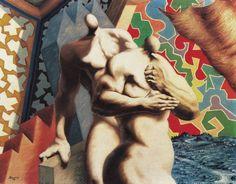 Alberto Savinio - Hommes nus o La cacciata dal paradiso, 1929