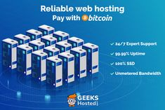 Romania-based web hosting provider GeeksHosted has recently announced a new payment option within its web hosting ecosystem. The company has accepted Bitcoin hosting and become among very few web hosting companies open to cryptocurrency payment. Professional Seo Services, Professional Website, Bitcoin Company, World News Video, Web Security, Perfect Money, Bitcoin Business, Website Ranking, Startup