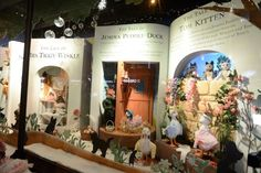 This festive season, luxury department store Fenwick Newcastle has whimsical animated window displays which bring to life some of Beatrix Potter's iconic story book characters like Jeremy Fisher, Jemima Puddle-Duck, the Tailor of Glouchester and of course, Peter Rabbit. The 'Magic of Beatrix Potter' theme was chosen this year in celebration of the author's 150th … Home Wedding Decorations, Christmas Decorations, Christmas World, Cottage Garden Design, Creative Review, Up Book, Shop Window Displays, Merchandising Displays, Event Design