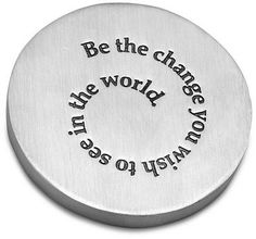 Be The Change Paperweight | High School Graduation Gifts For Guys, Him