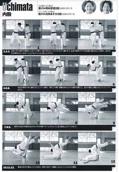 内股 Uchimata 허벅다리 후리기 Judo Training, Jiu Jitsu Training, Combat Training, Judo Throws, Female Martial Artists, Hiit Workout At Home, Ju Jitsu, Self Defense Techniques, Martial Arts Workout
