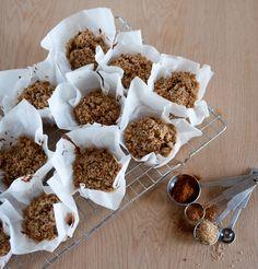 Muffins vegan de cenoura, laranja e nozes   SAPO Lifestyle