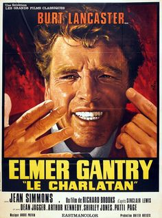 1961 Meilleur Film Richard BROOKS 1961 Acteur Dramatique Burt LANCASTER 1961 Actrice second rôle Shirley JONES