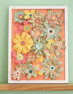 Paper Source How-To: Fine Paper Flower Art - Paper Flowers 🌸 Paper Flower Art, Paper Flowers Craft, How To Make Paper Flowers, Flower Crafts, Paper Art, Paper Crafts, Tube Carton, Handmade Scrapbook, Fine Paper