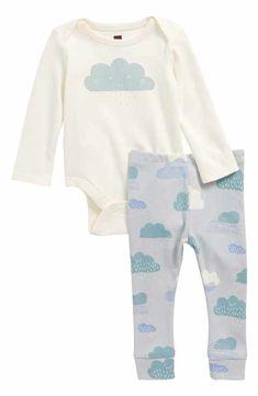 Tea Collection Bodysuit & Pants Set (Baby Boys)