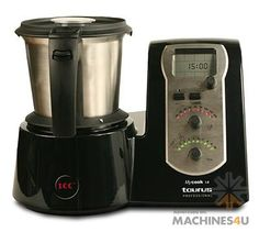 The ICC MyCook Professional is a heat assisted kitchen blender to chop, blend, emulsify, grind, mill and mix whilst you electronically monitor the process. Kitchen Blenders, Industrial Machine, Catering Equipment, Blender Recipes, Commercial Kitchen, Drip Coffee Maker, New Recipes, Kitchen Appliances, Taurus