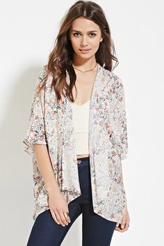 Contemporary Textured Kimono #f21contemporary