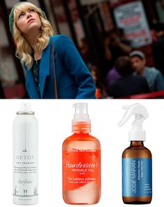 """Shiny, wavy hair works well for Gwen's city girl look and she's bound to have tousled locks with all the mayhem she gets into with Spider-Man. What makes her hair an attention getter is the healthy appearance. But if you're as busy as she is, you're going to want products that are quick and convenient. Dry shampoos are the """"it"""" thing right now and for the girl on the go,"""
