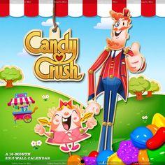 Candy Crush Premium Wall Calendar http://www.trendsinternational.com/