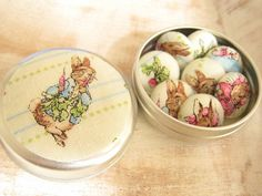 Peter Rabbit Beatrix Potter Drawing Pin Gift Set of 8 by Minibuds, £9.20