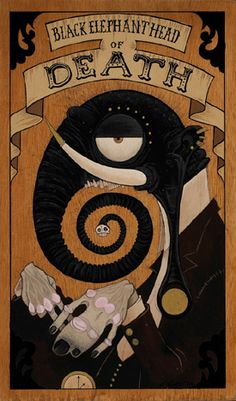 Gris Grimly - The Black Elephant Head of Death