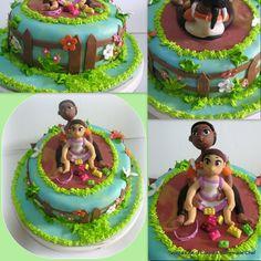 Veena's Art of Cakes: A Garden Theme birthday cake