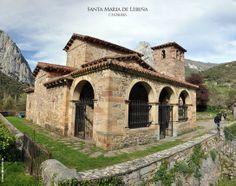 Santa Maria de Lebeña, Cantabria/ Prerrománico mozárabe/ duques de liebana:Don Algonso y Doña justa/