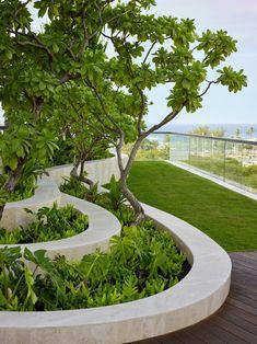Modern Landscape Design, Landscape Concept, Landscape Architecture Design, Landscape Plans, Urban Landscape, Landscaping With Rocks, Modern Landscaping, Backyard Landscaping, Landscaping Ideas