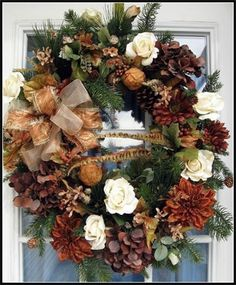 Wreaths: Decorative Door Wreaths, Luxury Christmas Wreaths - Petal Pusher's Home - Maplesville, AL