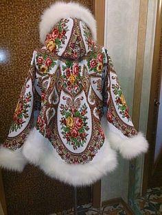 как сшить платье из посадских платков - Поиск в Google