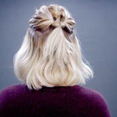 Continuing to share mini videos from my new video   10 Easy Half Up Everyday Short Hairstyles : Hairstyle #3 ∙ ∙ ∙ ∙ ∙ @hairs @hair.artistry @hair.videos @hairspost.s @peinadosvideos @styleartists #Fashionarttut #hair_artistry #hair_videos #hairpost #peinadosvideos #StyleArtists #hair #love #instahair #tutorial #hairtutorial #shorthair #hairandfashionaddict #imallabouthair #style #trending #fashion #peinados #videos #milabu09