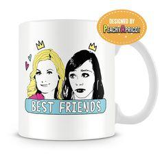 Leslie and Ann Best Friends Mug