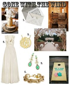 Southern wedding style, if I could have the trees in the middle right pic I might die..