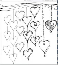 This is a page from the new Zenspirations Dangle Design Workbook...