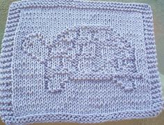 DigKnitty Designs: Turtle Knit Dishcloth Pattern