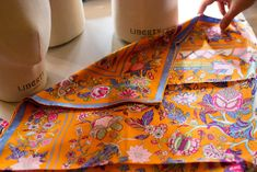 Scarf School: Learning How To Style A Scarf At Liberty London