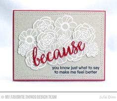 Because Card by Julie Dinn