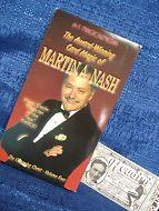 MARTIN A. NASH THE CHARMING CHEAT VOL. 4 AWARD WINNING CARD MAGIC VHS VIDEO TAPE