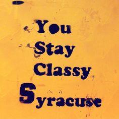 Syracuse baby!