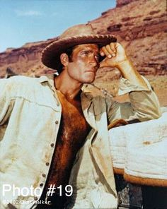 Clint Walker: The Big Guy Himself Clint Walker Actor, Cheyenne Bodie, Men Are Men, Cowboys Men, Best Hero, Tv Westerns, Country Men, Hairy Chest, Big Guys