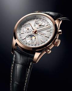 """Longines Conquest Classic Moonphase Watch - see Ariel's writeup in Departures Magazine """"More than 50 years ago Longines started a sub-brand called 'Conquest,' - an apt name for the sentiment Swiss watch makers want to convey to customers about their watches..."""" then see more articles about Longines watches: http://www.ablogtowatch.com/watch-brands/longines/ and more Moonphase Watches we've written about here: http://www.ablogtowatch.com/tag/moon-phase-watches/"""