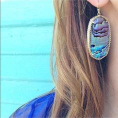 Kendra Scott Ablaone Shell Deily Earrings Thinking of selling... Kendra Scott abalone Deily earrings.  They have only been used a couple times and are in excellent condition! Please let me know if you are interested and priced high for offers! Kendra Scott Jewelry Earrings