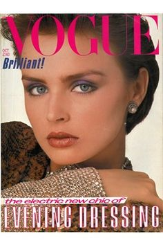 Fashion Magazine Covers - Online Archive for Women (Vogue.com UK) OCTOBER 1983