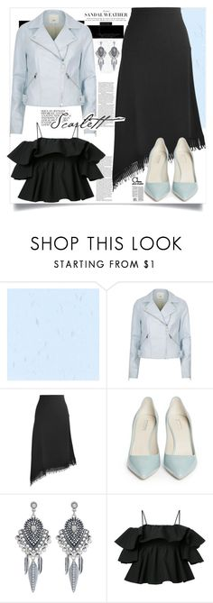 """""""Best of both worlds"""" by shreya-stark ❤ liked on Polyvore featuring River Island, Roland Mouret, Giorgio Armani, Accessorize and MSGM"""