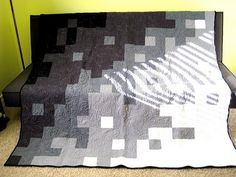 Grey scale quilt