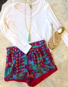 How cute is this outfit from Posh Boutique 21 in Covington? Fashion Week, Look Fashion, Womens Fashion, Fashion Trends, Trending Fashion, Teen Fashion, Looks Style, Style Me, Cute Summer Outfits