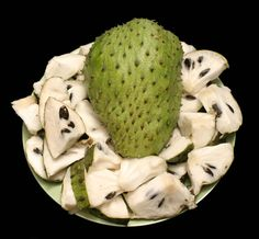 Soursop... Kills Cancer... Don't know if it's true but worth searching more about it... also their leaves prepared in tea used to treat liver problems and diabetes. Cures fever too...