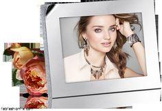 Miranda Kerr for Swarovski jewelry