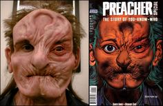 Preacher - The Story of You-Know-Who (Arseface) Makeup by Vincent Gaustini.