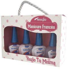 Kit Manicure Francés Masglo #masglo #masglolovers #4free #4freestyle #nailpolish #nails #nail #nailart #nailswag #naildesign #nailartist #nailaddict #naillacquer