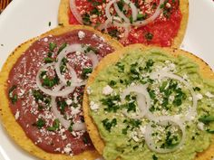***Traditional Guatemalan Tostadas- amazing, but the salsa ended up being a little to heavy on the tomato flavor-- perhaps a large onion rather than a small