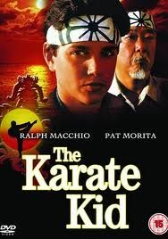 The Karate Kid -1984. The new kid in school is bullied until he is mentored by Mr. Miyage. Wax on, wax off.