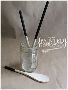 Make your own painted-handle wooden spoons!
