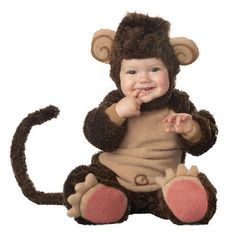 Lil' Monkey Toddler/ Infant Halloween Costume #InCharacter #CompleteCostume
