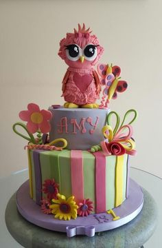 My first owl - Cake by Cake Towers