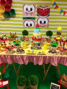 Festa Turma da Mônica Baby G, Malu, Little Princess, Diy Party, Party Time, Picnic, Birthdays, Holiday Decor, Creative