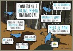 10 Dec - Uitnodiging Conferentie Social Media Mariahoeve - http://www.wijkmariahoeve.nl/10-dec-conferentie-social-media-mariahoeve/ - Uitnodiging Conferentie Social Media Mariahoeve Datum: 10 december 2015  Tijdstip: 18.30 uur - 21.00 uur  Plaats: Het Kleine Loo 364 ( ingang tegenover de Vlamenburg )  Activiteit: Conferentie Social Media  Kosten: Gratis  Aanmelden kan: mariahoeve@denhaag.nl of Aanmelden ter plekke op de avond zelf kan ookSocial media zijn niet meer weg te