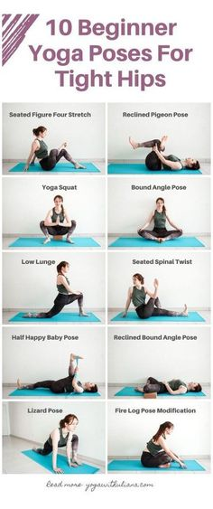 Yoga Stretches For Beginners, Beginner Yoga Workout, Hip Workout, Beginner Yoga Poses, Easy Yoga For Beginners, Yoga Sequence For Beginners, Beginner Meditation, Easy Yoga Poses, Beginner Yoga Routine