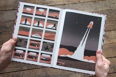 Jon McNaught - graphic novel, Dockwood